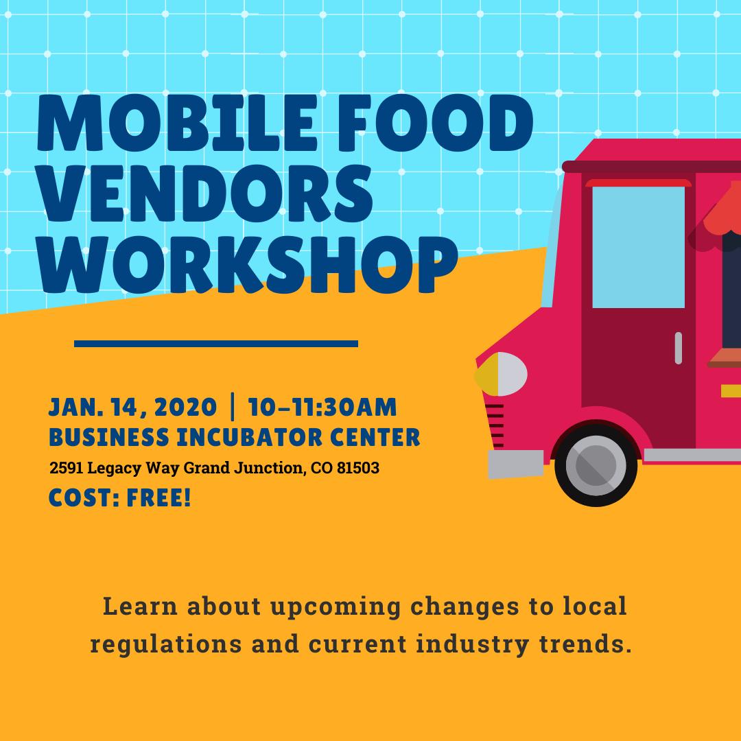 Mobile Food Vendors Workshop